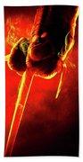 Tmnt 1   -  Raphael Smoky Red. Bath Towel