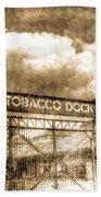 Tobaco Dock London Vintage Bath Towel