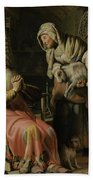 Tobit And Anna With The Kid Bath Towel