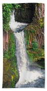 Toketee Falls Bath Towel