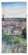 Toledo Spain 2016 Bath Towel