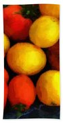 Tomatoes Matisse Bath Towel