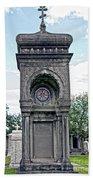 Tomb Of General P G T Beauregards Daughter Bath Towel