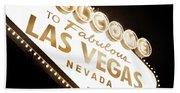 Tonight In Vegas Bath Towel