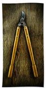 Tools On Wood 34 Hand Towel