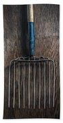 Tools On Wood 66 Bath Towel