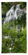 Top Of Munson Creek Falls Bath Towel