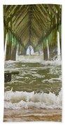 Topsail Island Pier Bath Towel