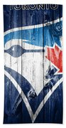 Toronto Blue Jays Barn Door Bath Towel
