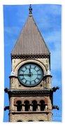 Toronto Clock Tower Bath Towel