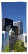 Toronto Downtown Skyline Bath Towel