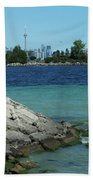 Toronto Shoreline Bath Towel