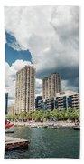 Toronto - Skyline / Harbourfront Bath Towel