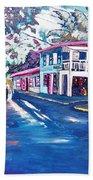Tortola  Main Street Hand Towel