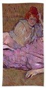 Toulouse Lautrec The Sofa Hand Towel