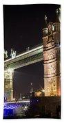 Tower Bridge At Night Bath Towel