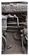 Tractor Engine II Bath Sheet by Stephen Mitchell