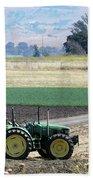 Tractor Bath Towel