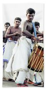 Traditional Drummers Bath Towel