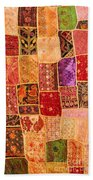 Traditional Patchwork Tapestry Bath Towel