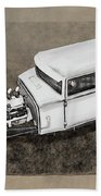 Traditional Styled Hot Rod Sedan Hand Towel