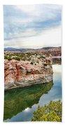 Trail Creek Canyon Bath Towel