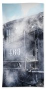 Train Engine 463 Bath Towel