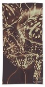 Translucent Abstraction Hand Towel