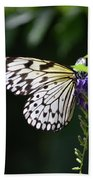 Translucent Wings On A Rice Paper Butterfly Bath Towel