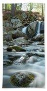 Trap Falls In Spring 4 Bath Towel