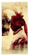 Travel Exotic Headgear Waiter Portrait Mehrangarh Fort India Rajasthan 2a Bath Towel