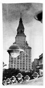 Travelers Insurance Tower Bath Towel