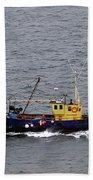 Trawling Off The Dingle Peninsula In Ireland Bath Towel