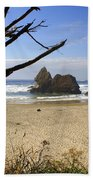 Tree And Ocean Hand Towel