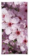 Tree Blossoms Pink Spring Flowering Trees Baslee Troutman Bath Towel