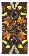 Tree Mandala 1 - Watercolor Bath Towel
