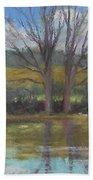 Tree Of Life Landscape Bath Towel