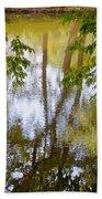 Tree Reflections Bath Towel