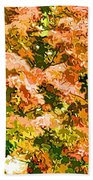 Tree With Autumn Leaves Bath Towel
