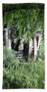 Trees Fallingwater  Bath Towel