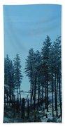 Trees In Northwest Hand Towel