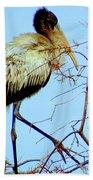 Treetop Stork Bath Towel