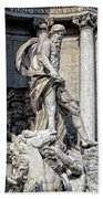 Trevi Fountain - Rome Bath Towel