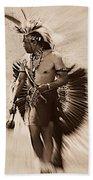 Tribal Dancer Hand Towel