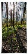Trillium Trail Bath Sheet by Matt Molloy