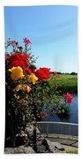 Trim Florals Hand Towel