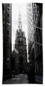 Trinity Church New York City Bath Towel