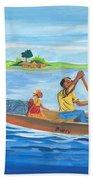 Trip To Lake Kivu In Congo Bath Towel