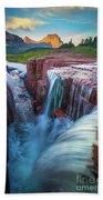 Triple Falls Cascades Bath Towel
