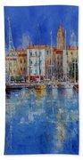 Trogir  -  Croatia Bath Towel